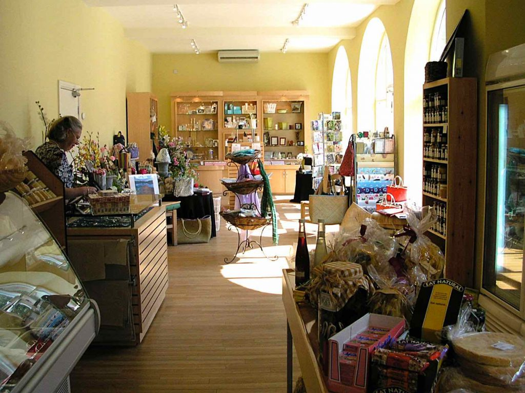 Commercial projects conversion of a retail gift shop