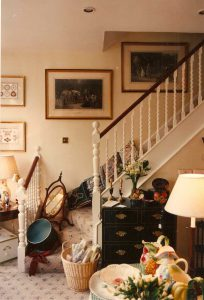 Internal alterations to a staircase