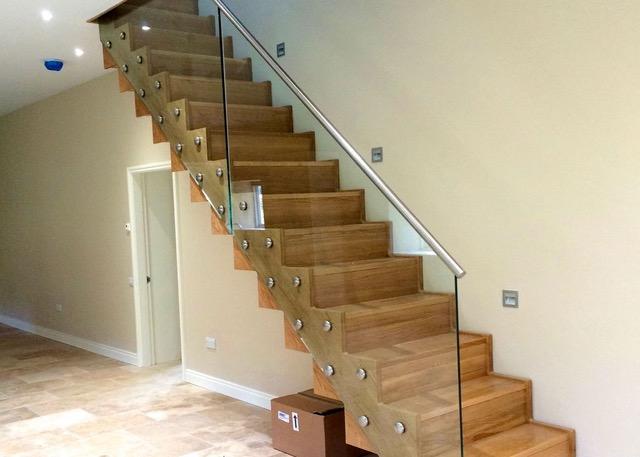 An Oak Staircase